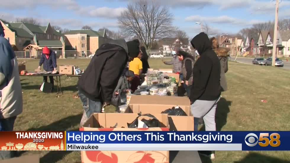 Several local organizations gave back to hundreds on Thanksgiving